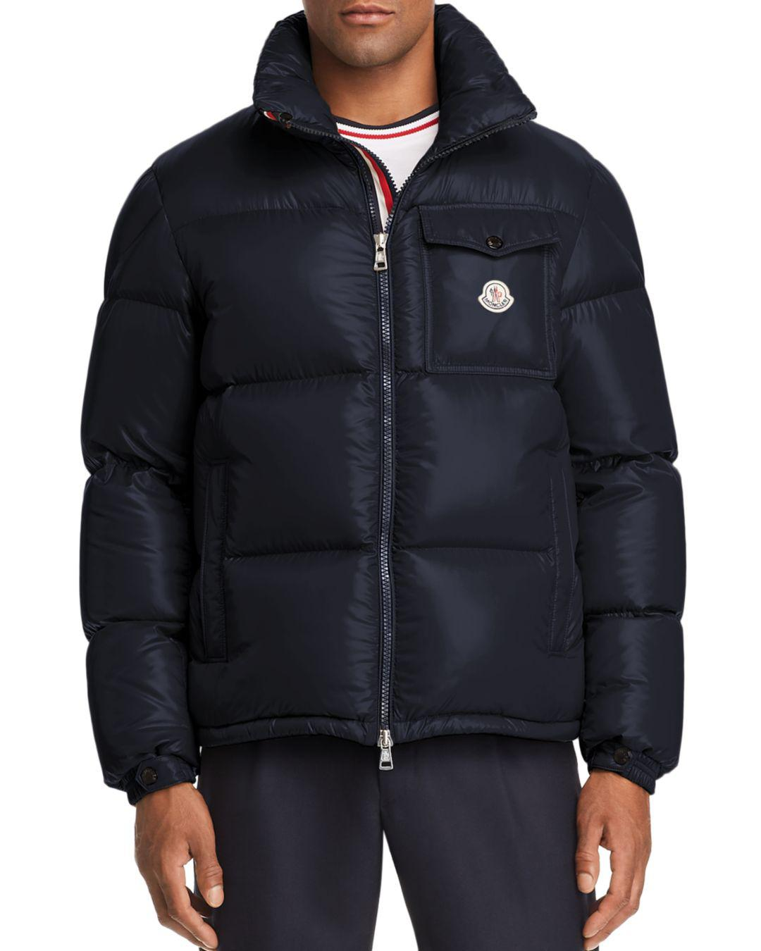 8a9b862afda5 Lyst - Moncler Montbeliard Down Jacket in Blue for Men
