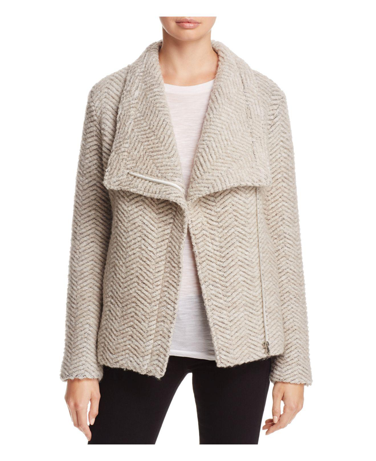Lyst Cupcakes And Cashmere Dallas Textured Jacket