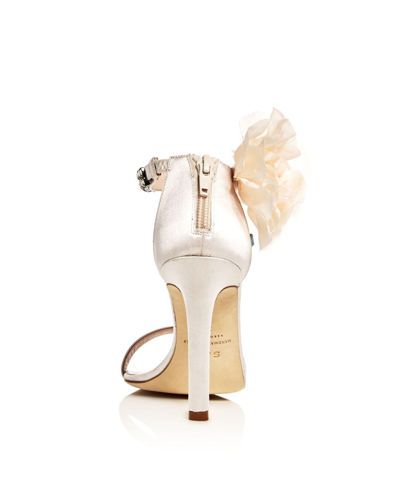 Sjp Leila Embellished Satin High-Heel Sandals - 100% Exclusive 3pqyZ