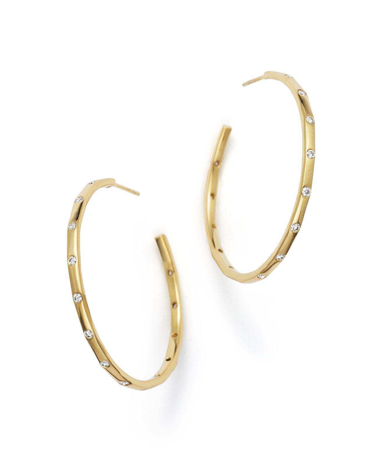 Ippolita 18k Glamazon Stardust Long Earrings with Diamonds LPLTje9p4V
