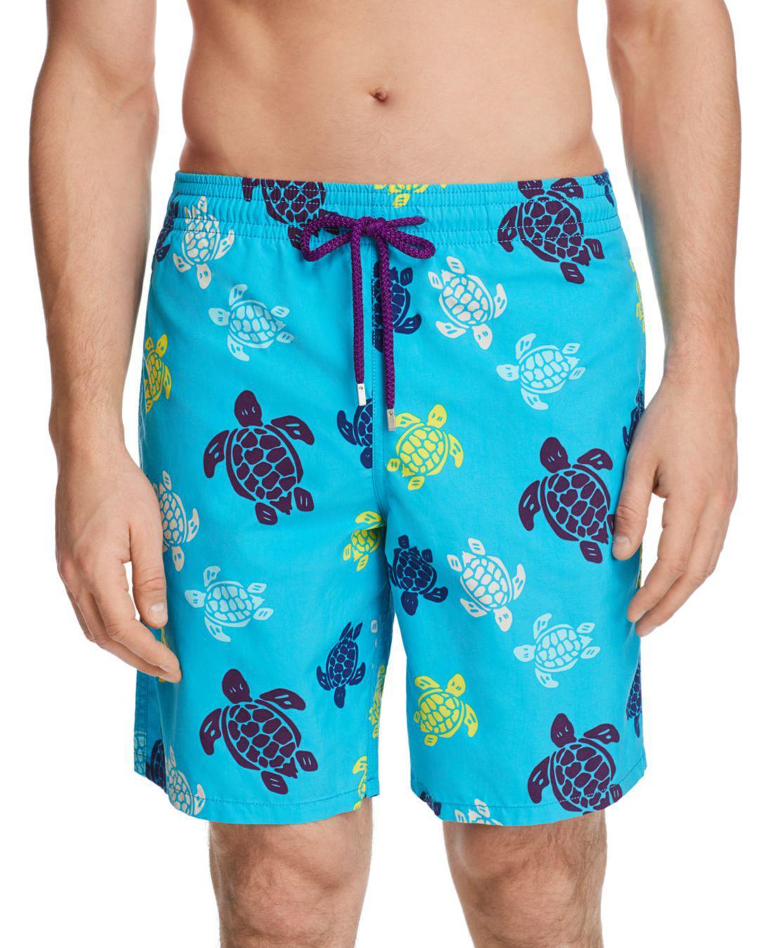 2be818603b056 Lyst - Vilebrequin Okoa Swim Trunks in Blue for Men