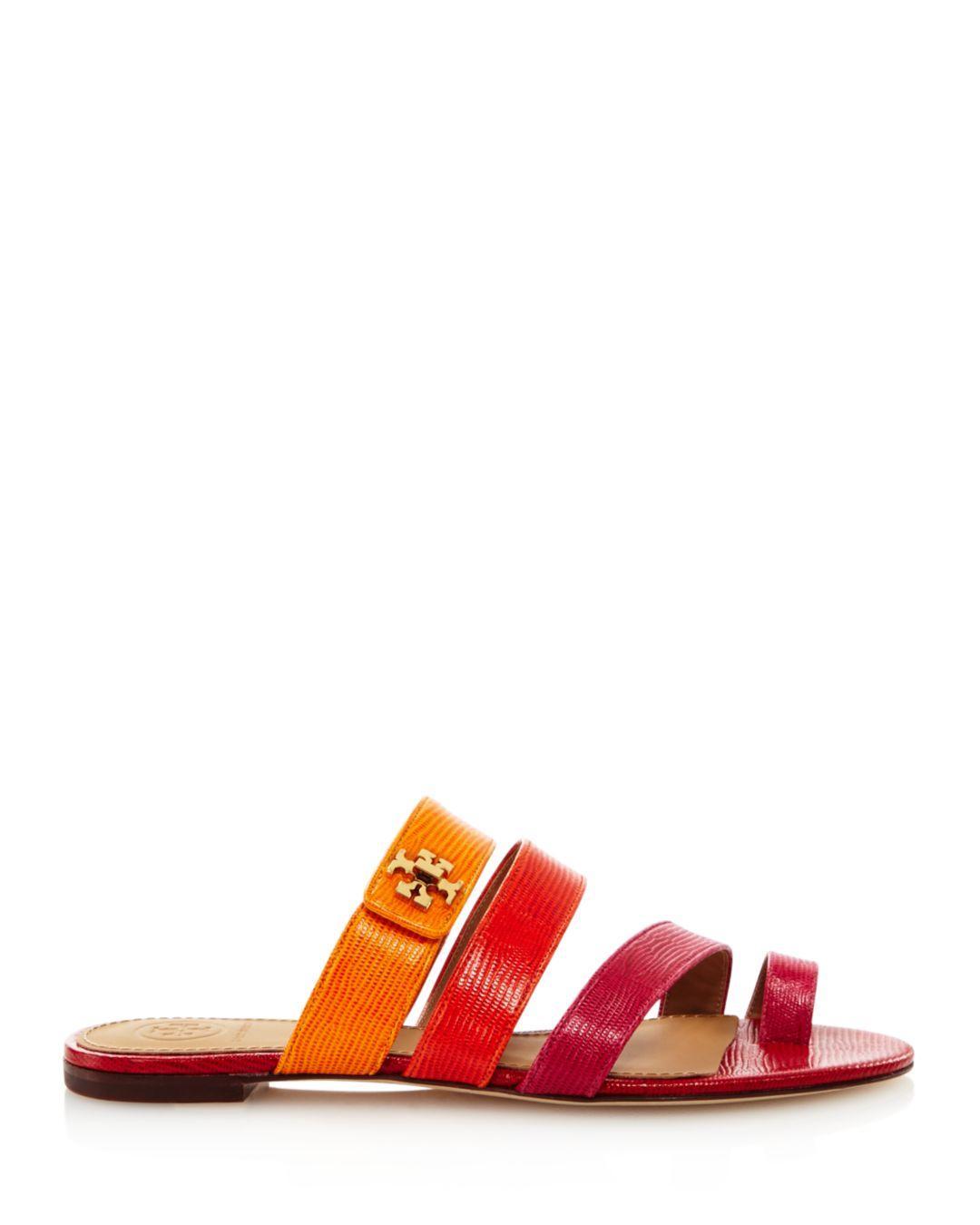 dd5de801f0864 Lyst - Tory Burch Kira Toe Ring Sandal