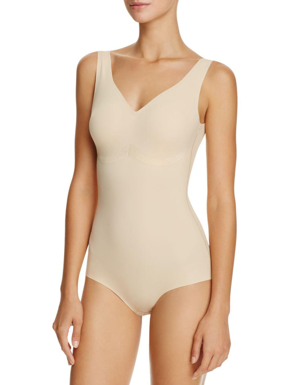 5dfb7ea1ff731 Lyst - Wacoal Europe Beyond Naked Bodysuit in Natural
