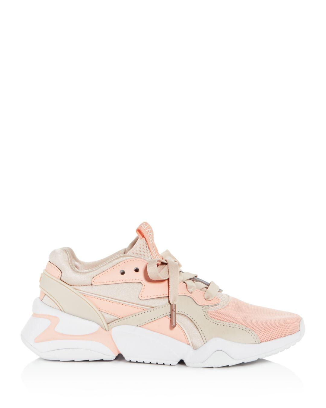 2b4d6be8b2cf37 Lyst - Puma Women s Nova Grl Pwr Low-top Sneakers in Pink