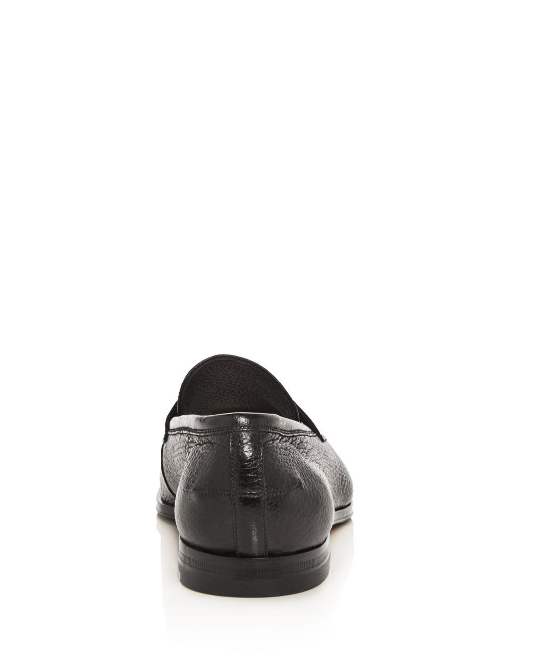 ef4a0c6da34 Lyst - Bally Men s Webb Leather Penny Loafers in Black for Men