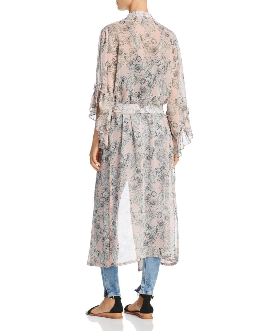 d516fde5 MISA Amina Floral Kimono - Lyst