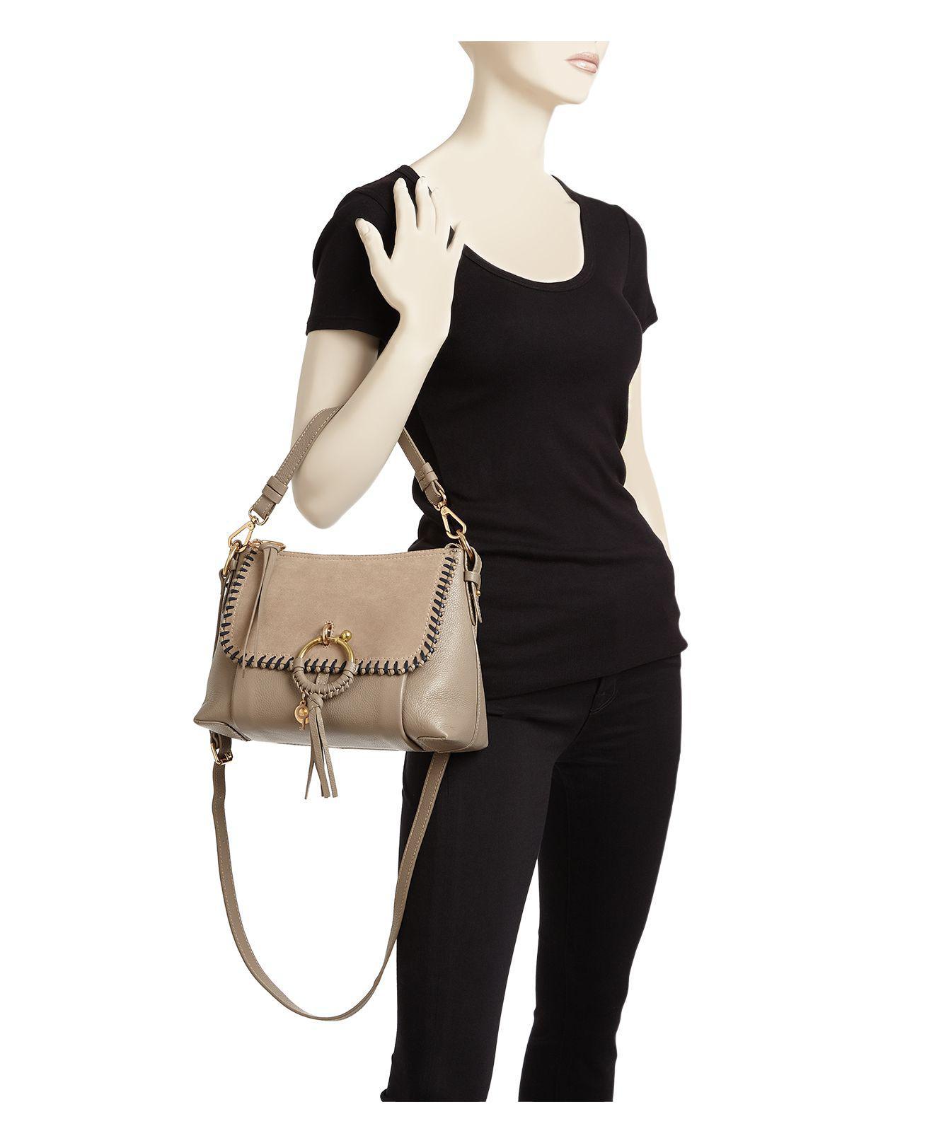 Satchel See Chloe Joan By Small Leather Bag mN8n0vw