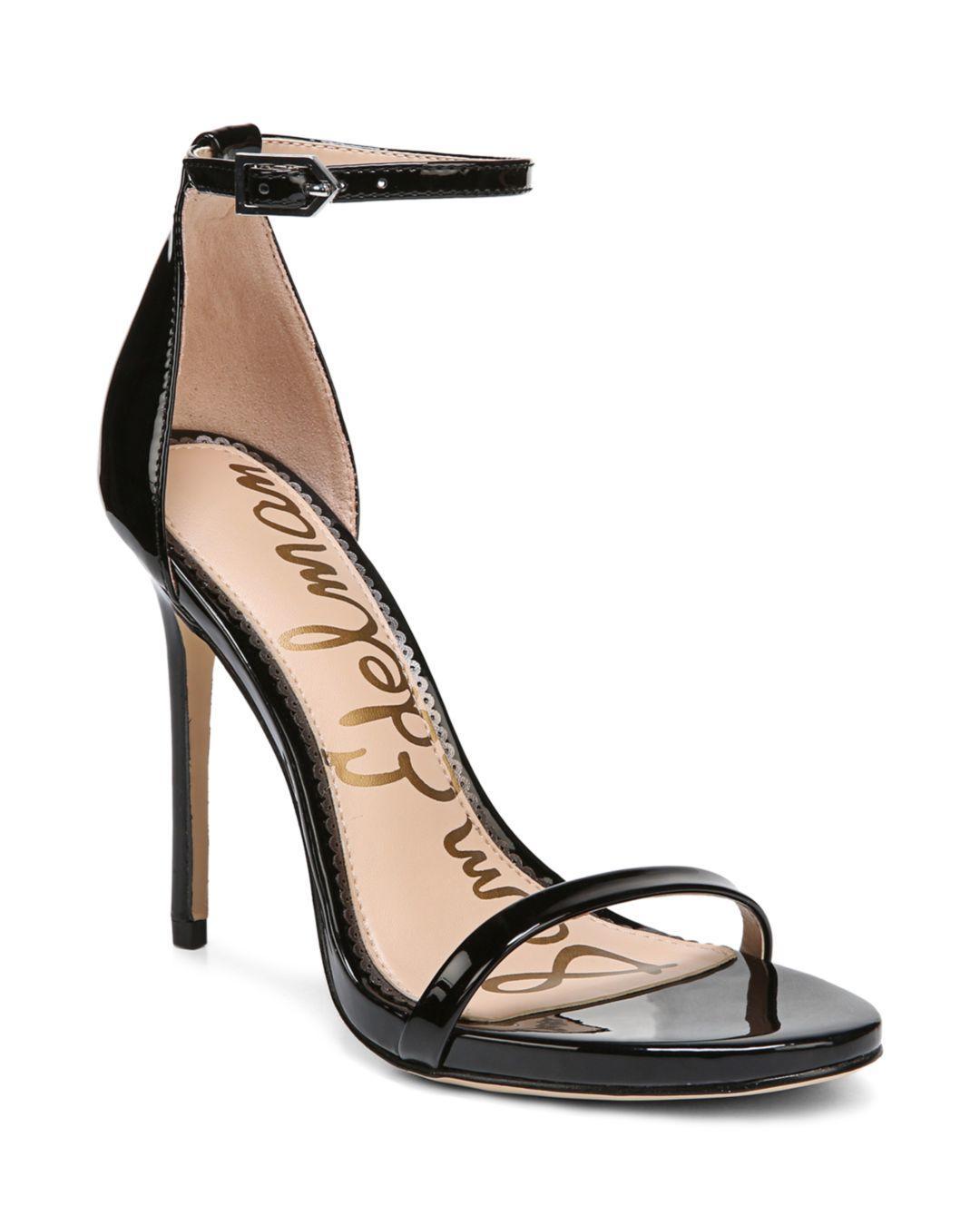 fb57c6042c3 Lyst - Sam Edelman Women s Ariella High-heel Ankle Strap Sandals in ...