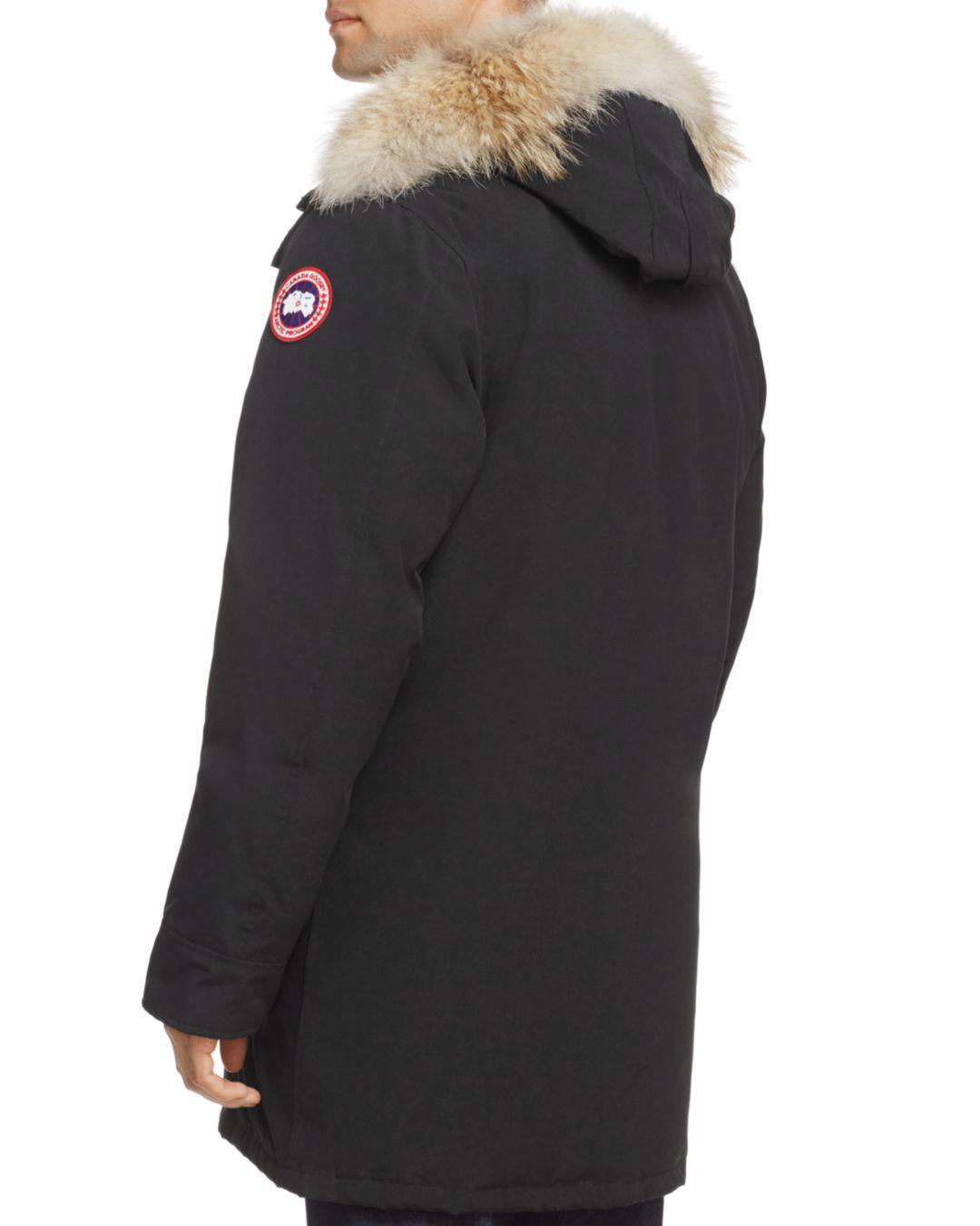 4d7f7c8661bb promo code for lyst canada goose langford fur lined parka in black for men  ce7f0 001d7