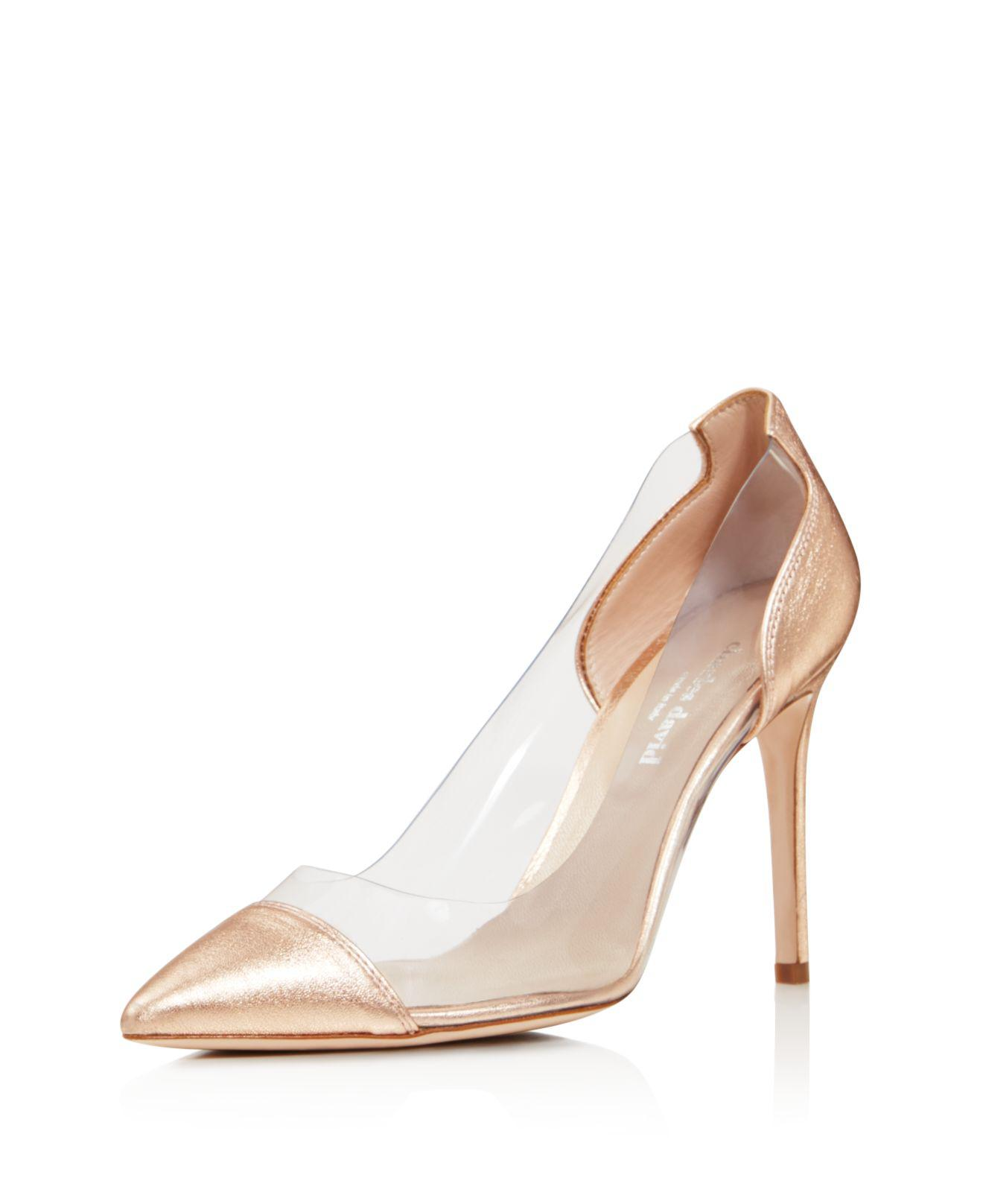Charles David Women's Genuine Transparent Pump UlxKiPp