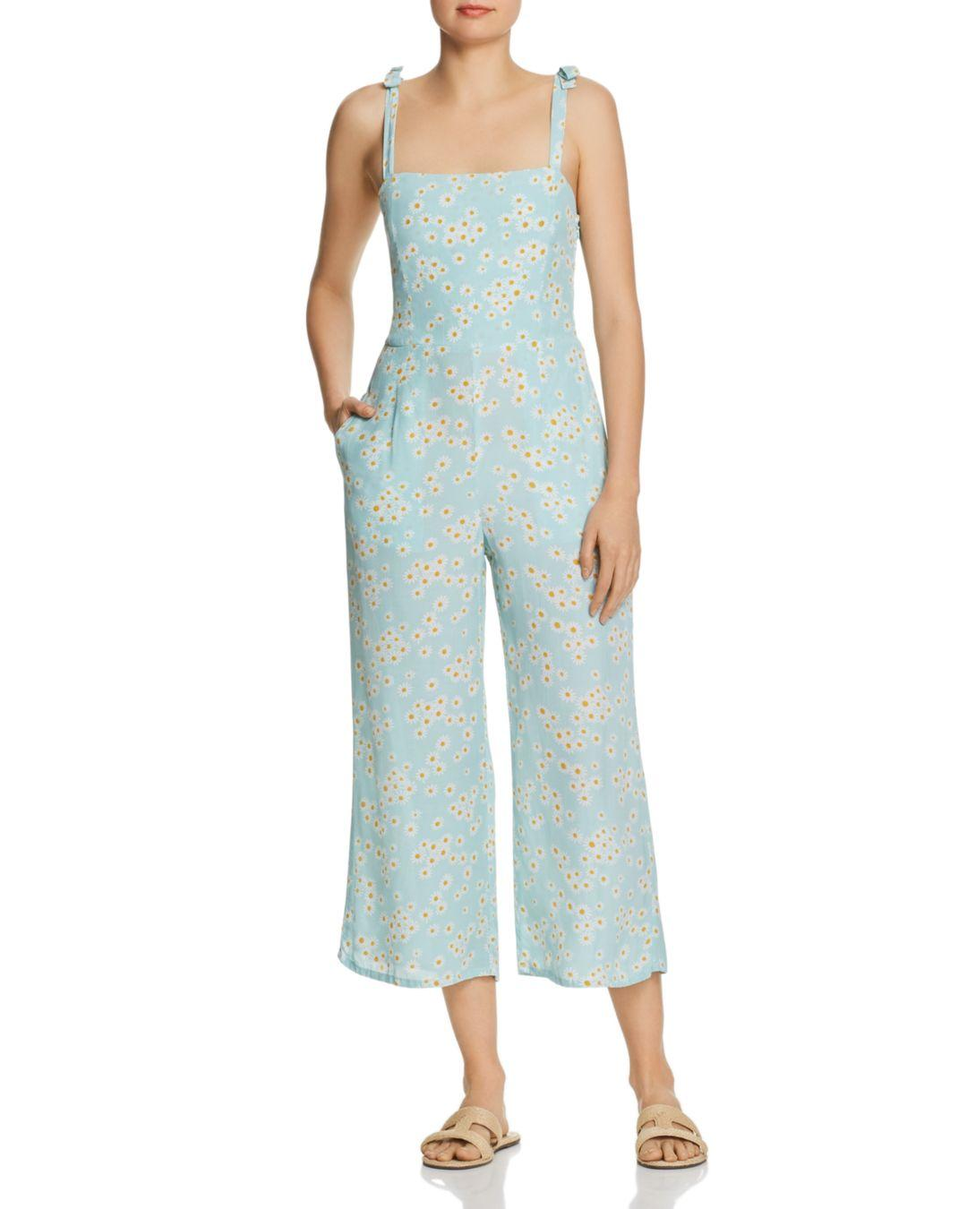 1d82be73d7ce Faithfull The Brand Frankie Daisy - Print Jumpsuit in Blue - Lyst