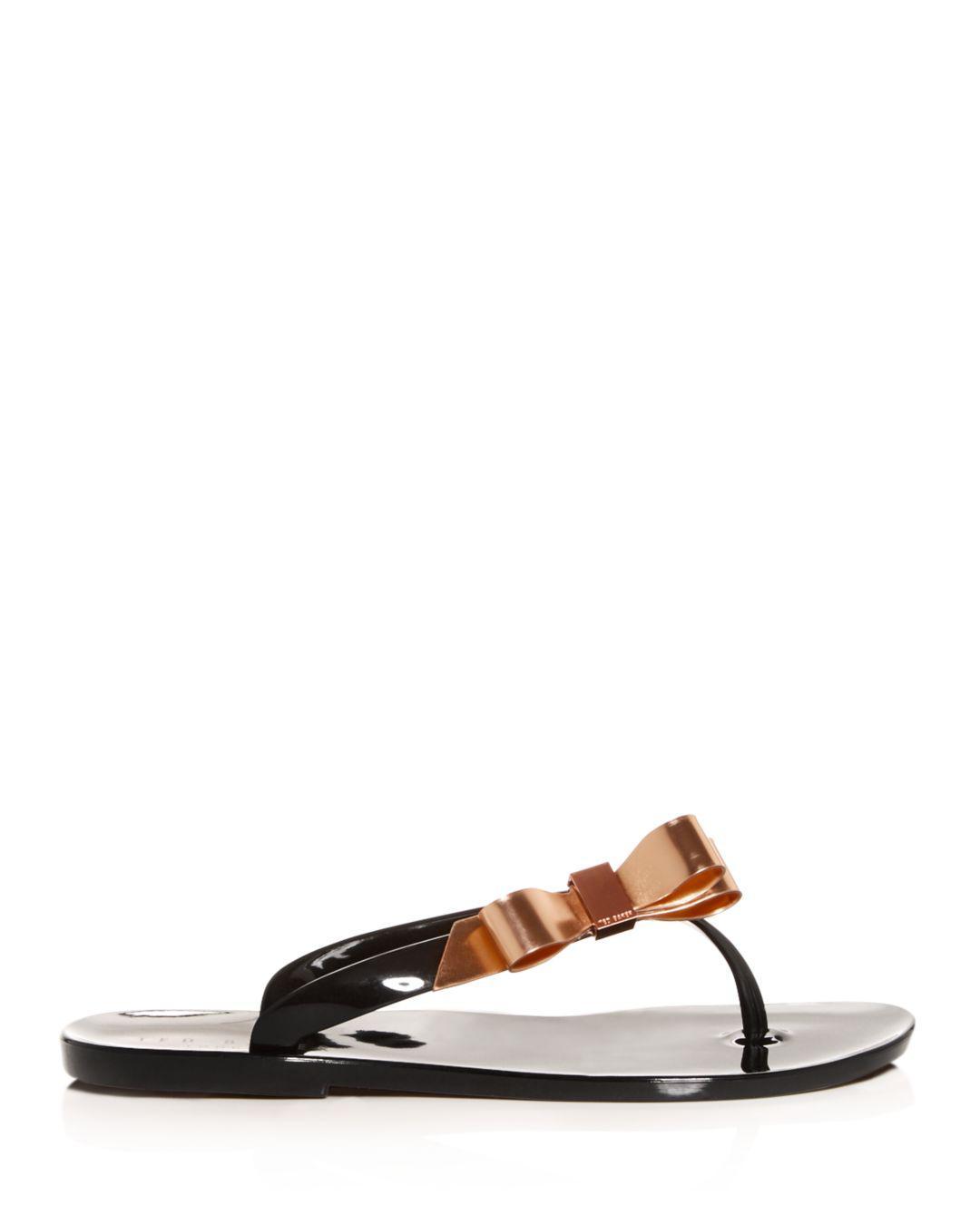 ad07014b1 Lyst - Ted Baker Women s Suszie Flip-flops