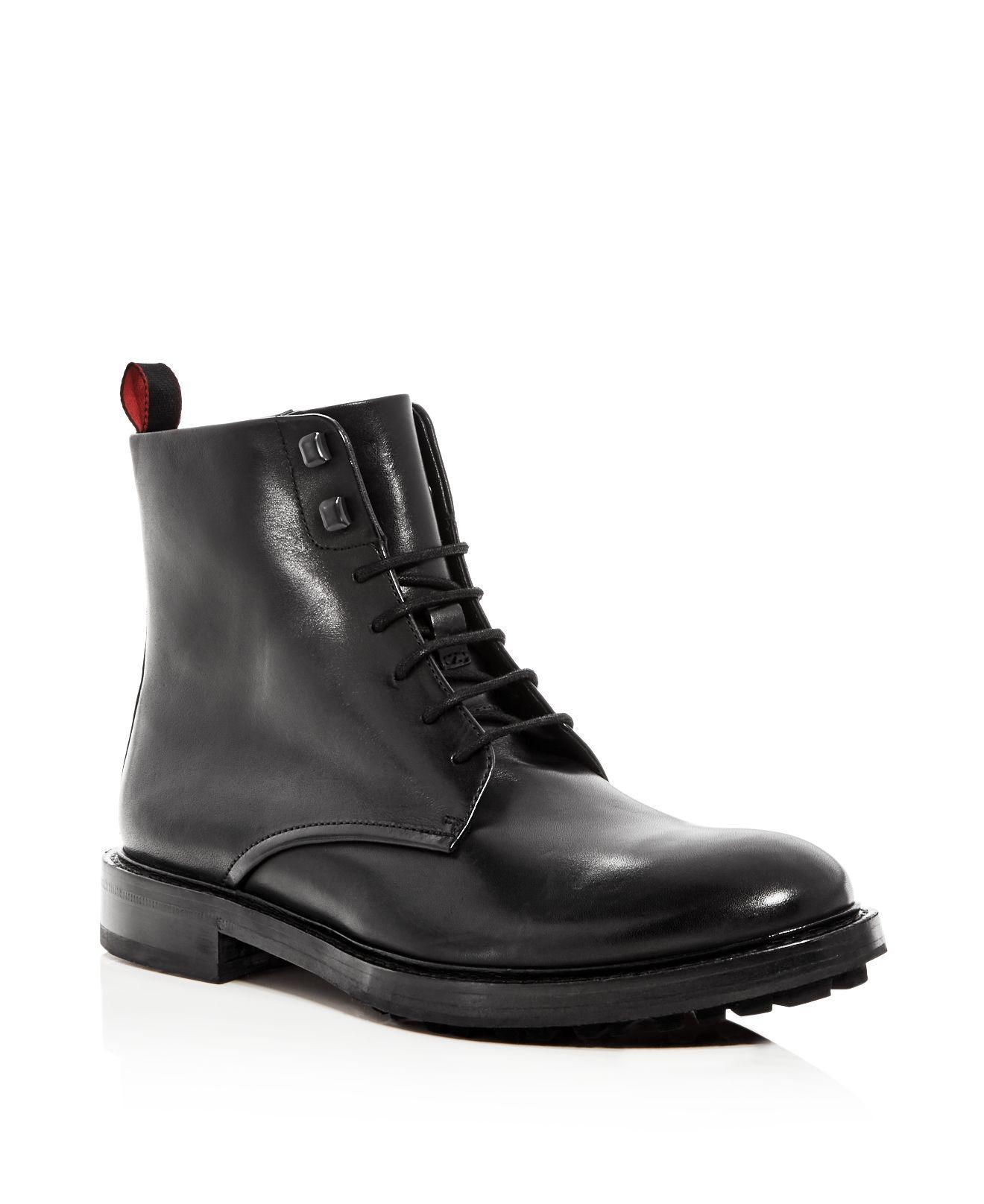 HUGO EXPLORE HALB - Lace-up boots - black DzHcLiYTP