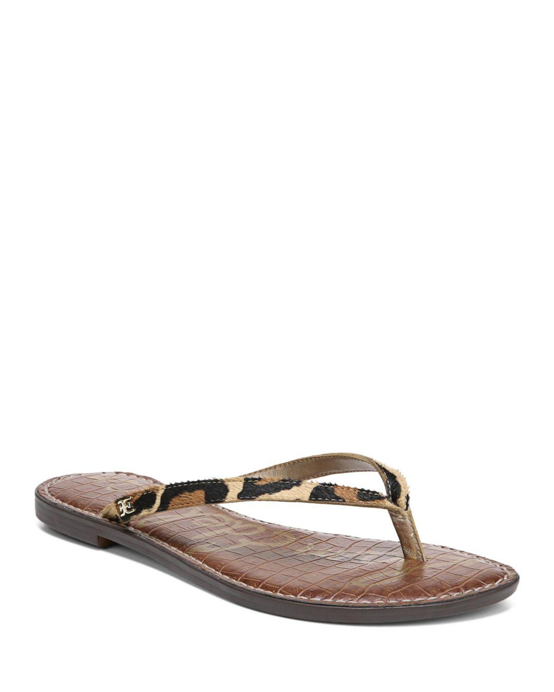 7c383977cea1 Lyst - Sam Edelman Women s Gracie Flip-flops