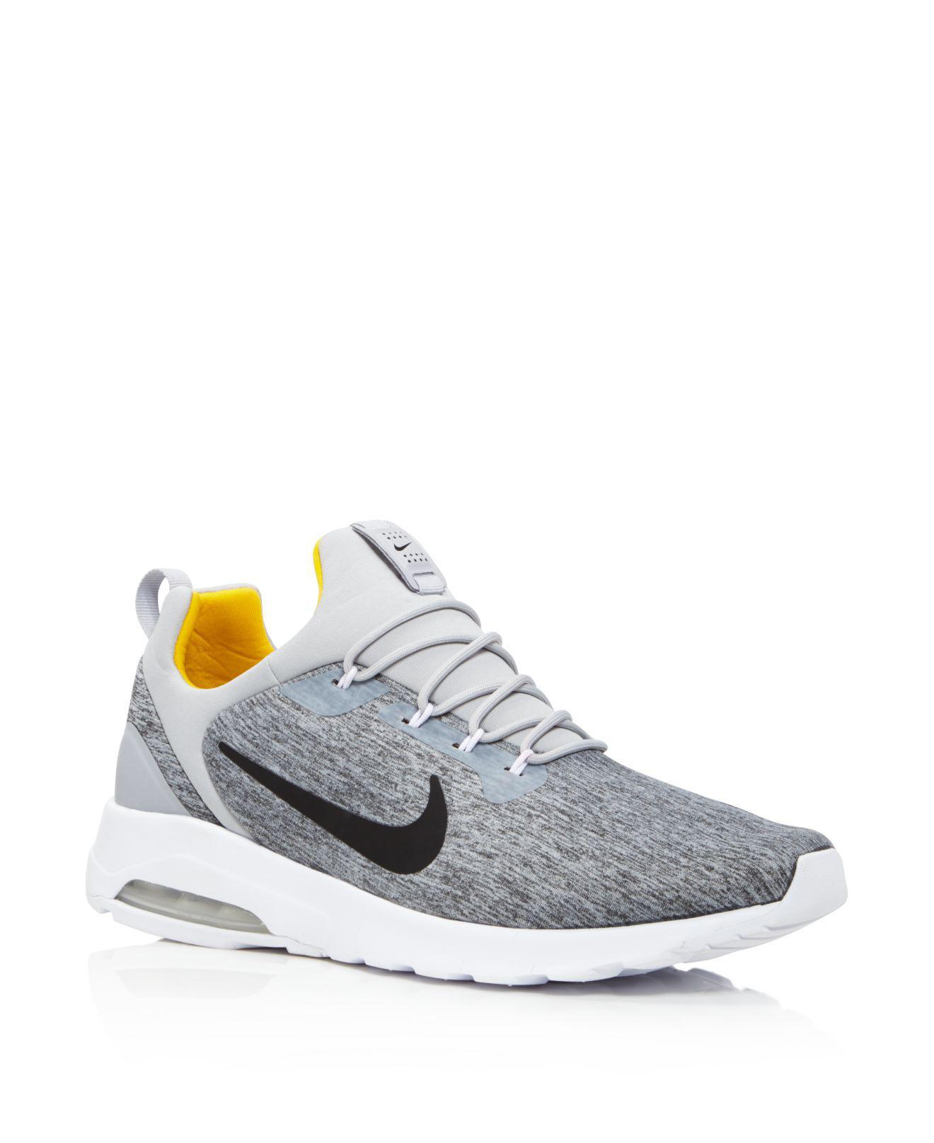 Nike. Gray Men's Air Max Motion Racer Sneakers