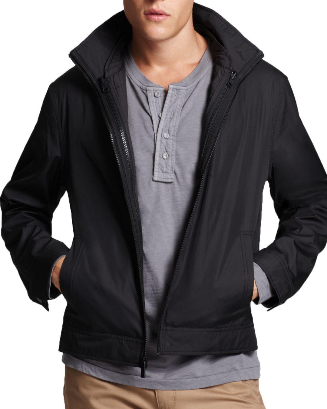 1cbb95bb4bc84 Lyst - Michael Kors 3-in-1 Track Jacket in Black for Men