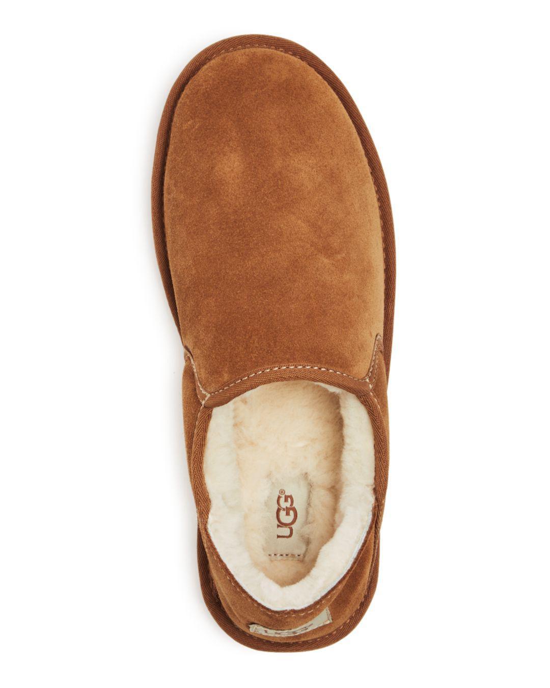 2fe0377b0411 Lyst - UGG Men s Kenton Shearling Slippers in Brown for Men