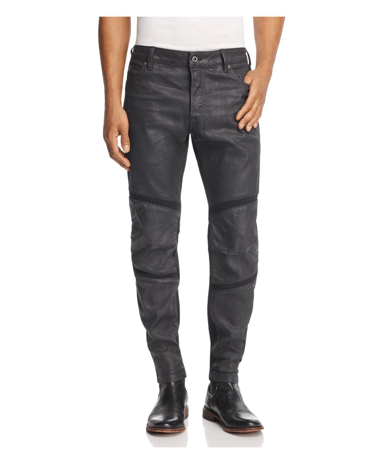 09d5d040e39 G-Star RAW Motac 3d Slim Fit Coated Jeans In Dark Grey in Gray for ...