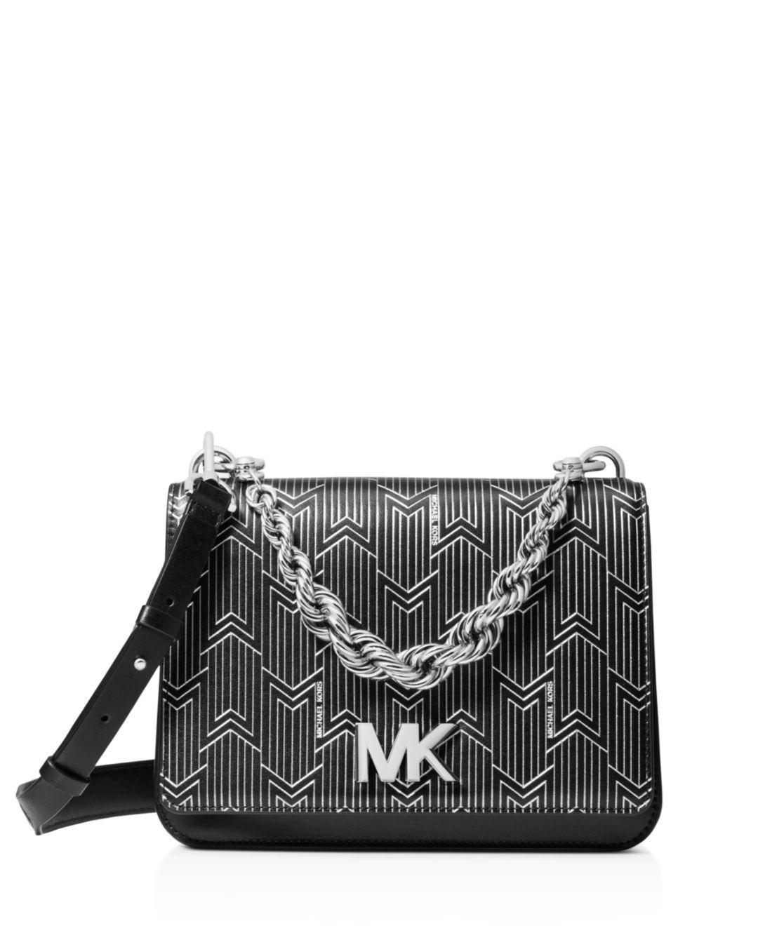 a32279647ee3 MICHAEL Michael Kors. Women s Metallic Matt Chain Leather Shoulder Bag