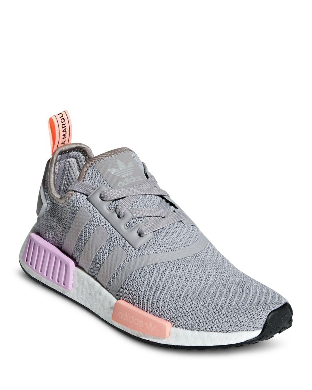 b66a970b7db adidas Nmd R1 Casual Sneakers From Finish Line in Gray - Lyst