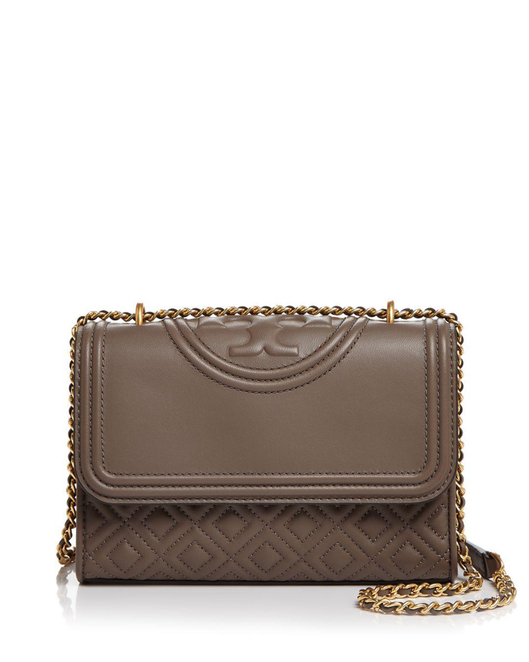 742a3f036b2e1 Tory Burch. Women s Fleming Convertible Small Leather Shoulder Bag