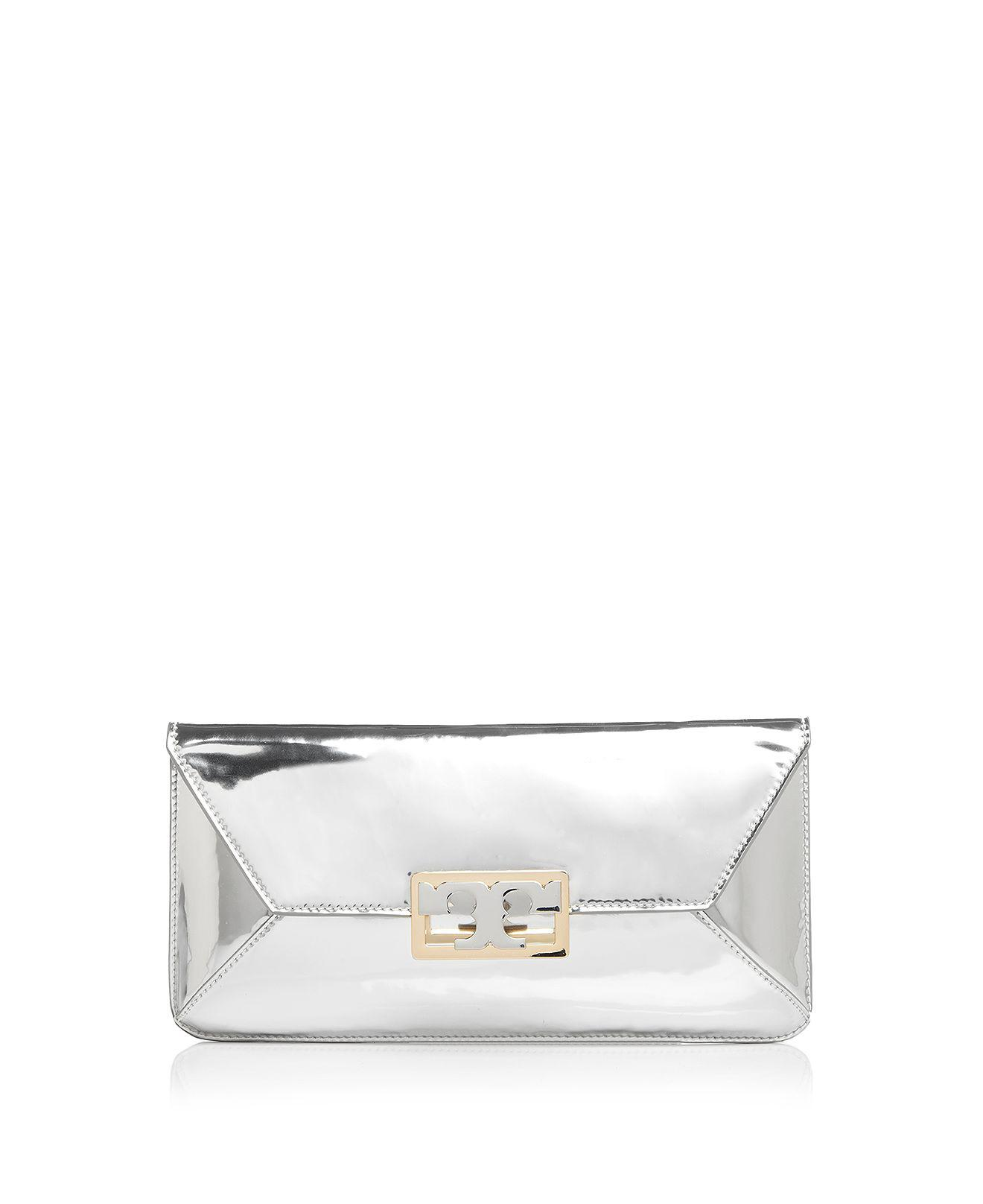 b195f0f6aa3 Gallery. Previously sold at  Bloomingdale s · Women s Metallic Clutch ...