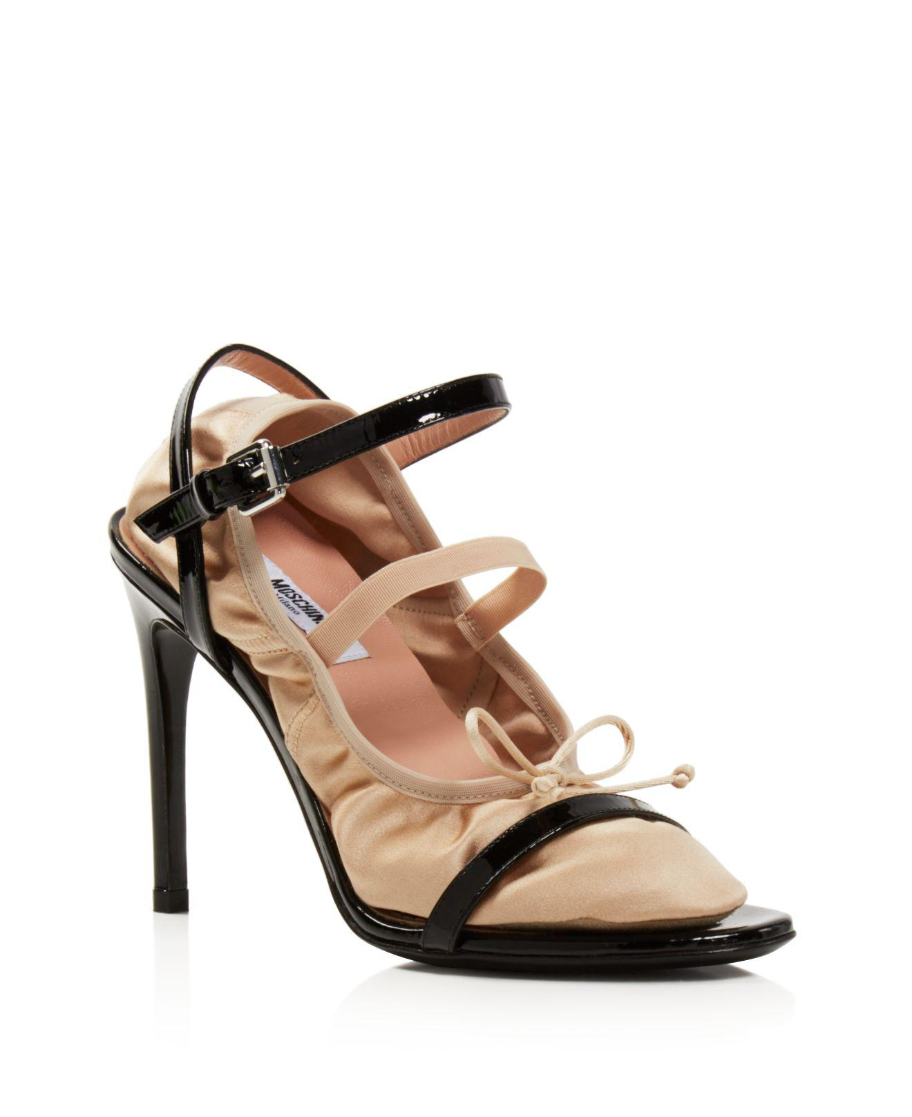 Pre-owned - Patent leather sandal Moschino oXrfrGPbfV