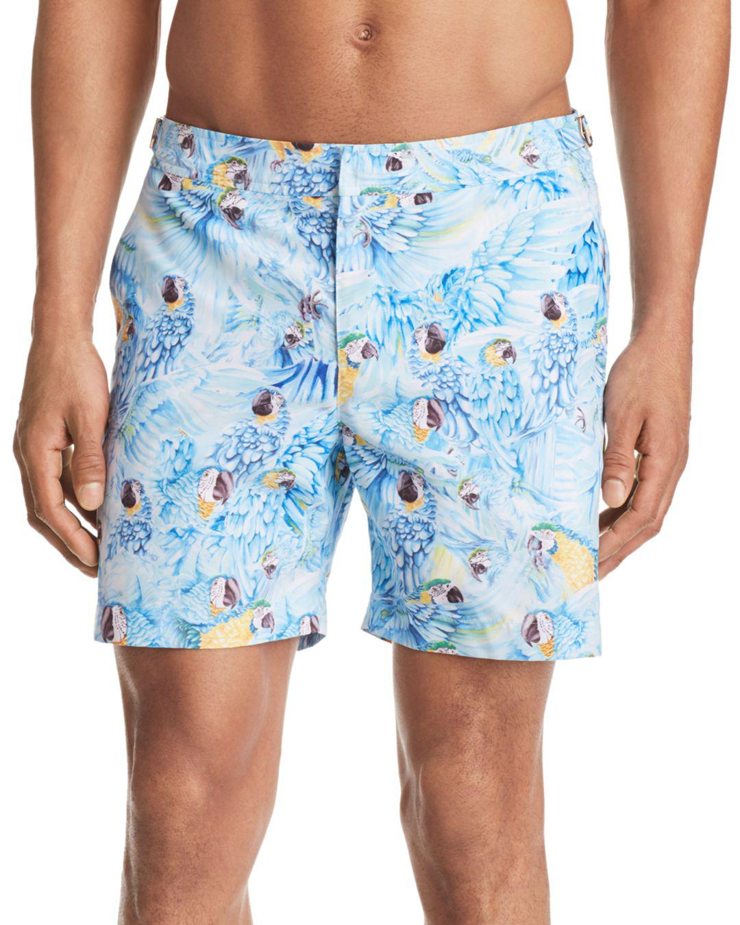 Lyst Orlebar Brown Without Feather Ado Swim Trunks In Blue For Men