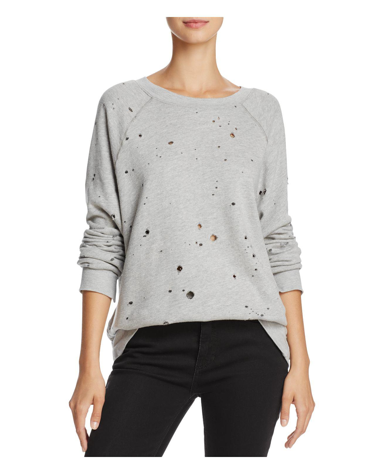 9df4c193 Project Social T My Generation Distressed Sweatshirt in Gray - Lyst