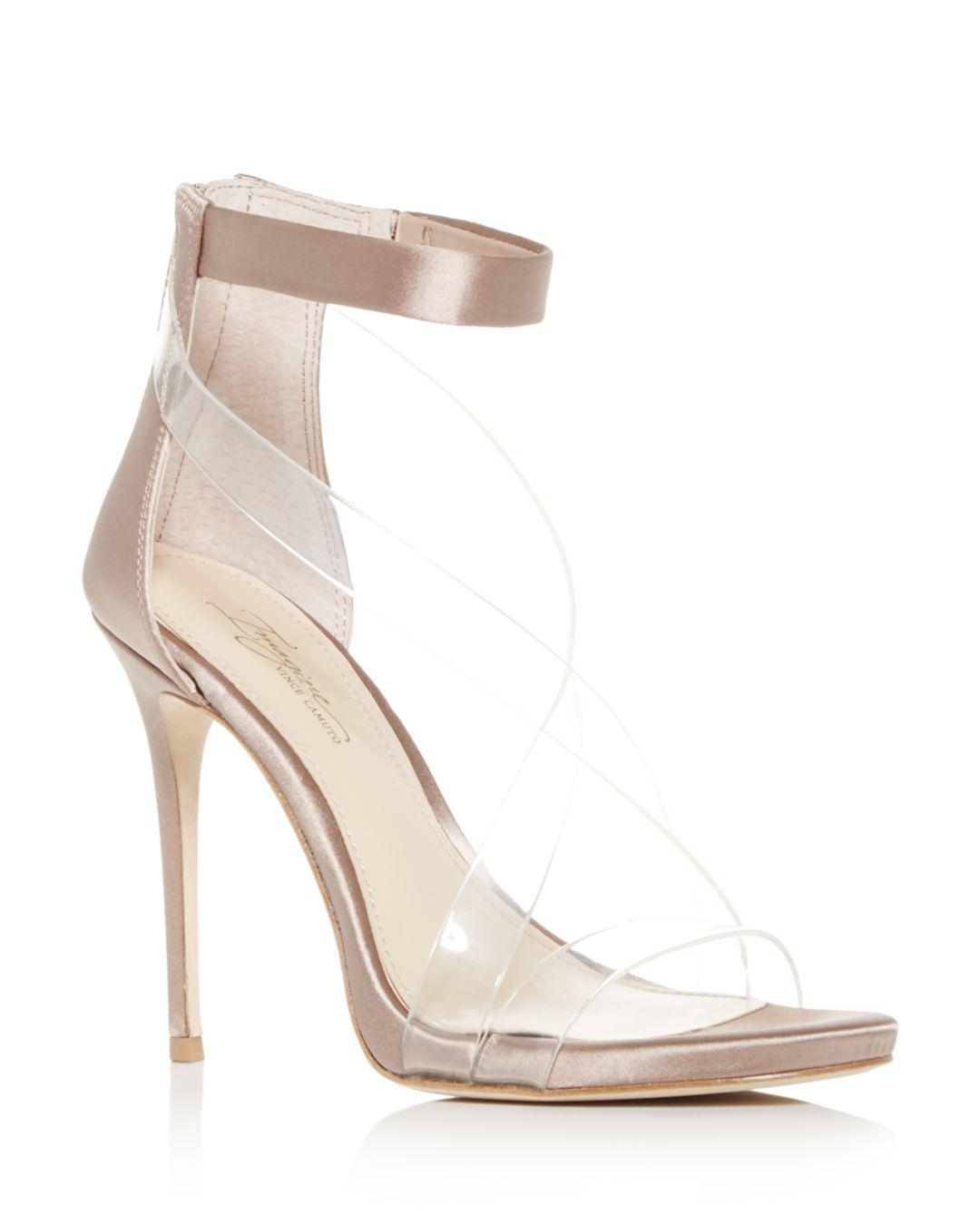 95171e117123 Lyst - Imagine Vince Camuto Women s Devin Ankle Strap High-heel Sandals
