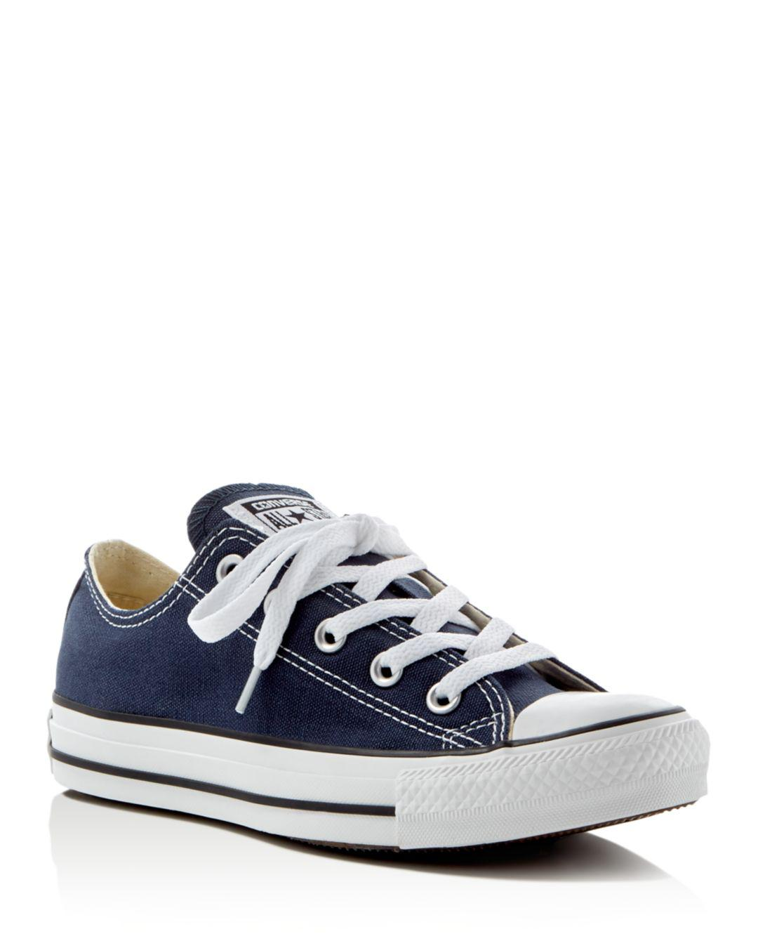 Lyst - Converse Women s Chuck Taylor All Star Lace Up Sneakers in Blue dd5252120