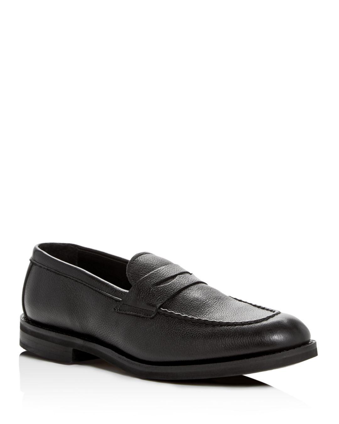 ffd3566de83 Lyst - Allen Edmonds Men s Nomad Leather Penny Loafers in Black for Men