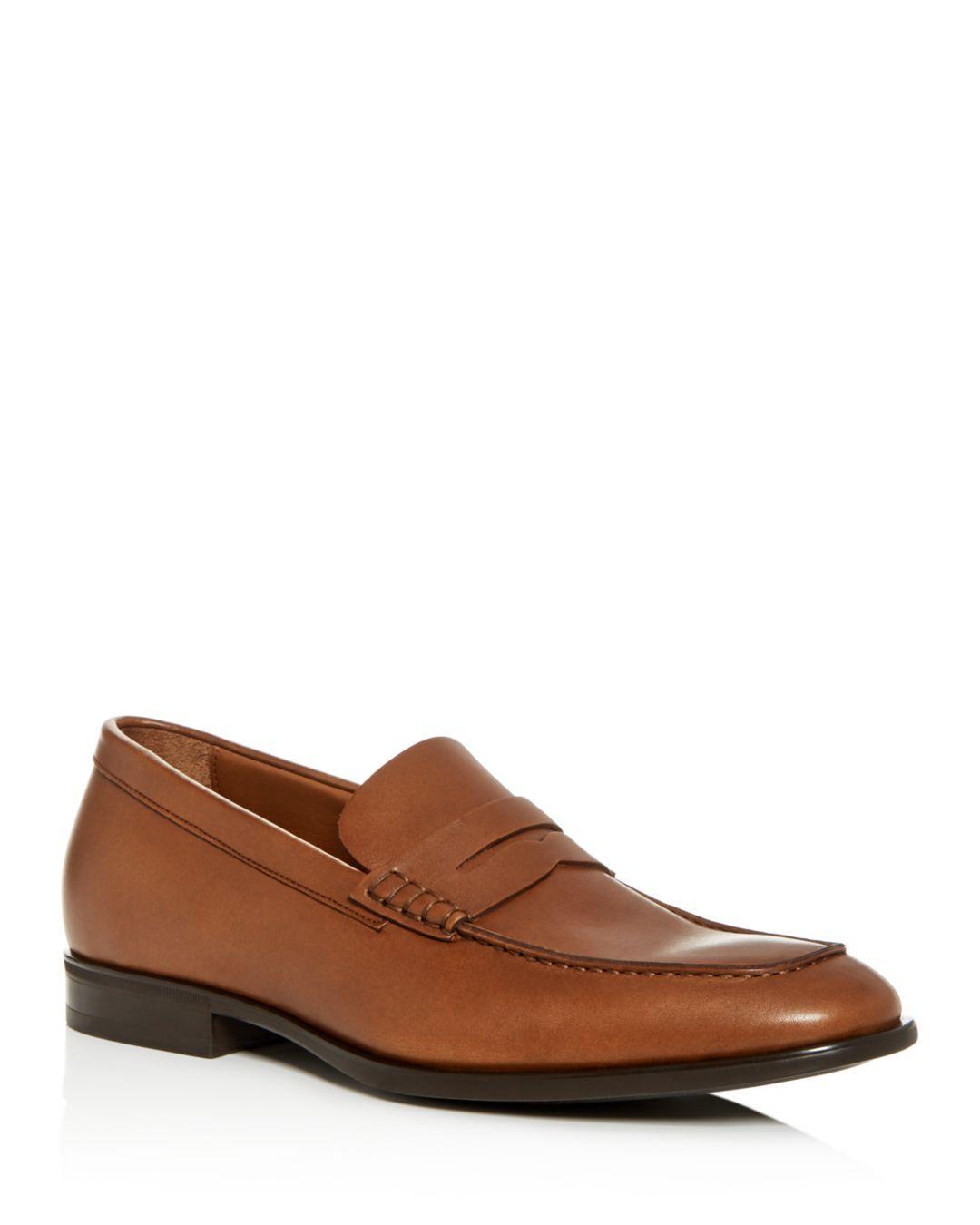 3729efd7929 Lyst - Aquatalia Men s Adamo Weatherproof Leather Penny Loafers in ...