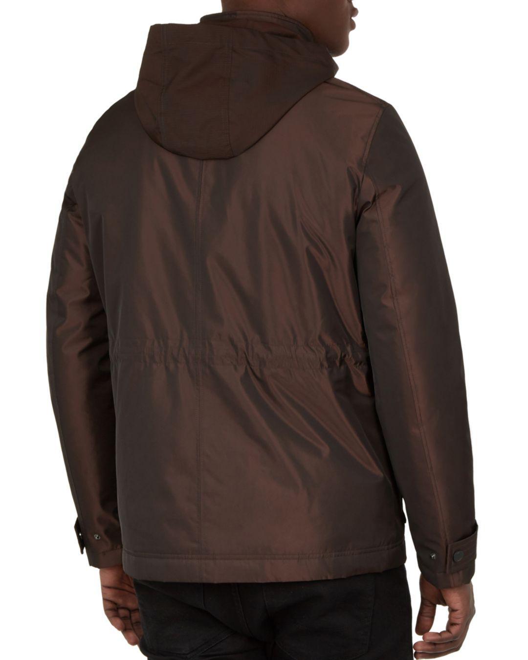 7e35372719df3 Lyst - Ted Baker Oka Nylon Field Jacket in Red for Men