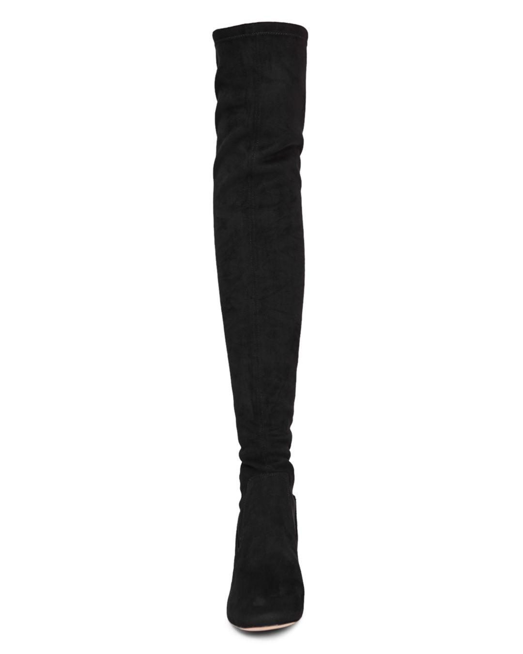 3144ee901a06 Reiss - Black Women s Margi Over-the-knee Suede Boots - Lyst. View  fullscreen
