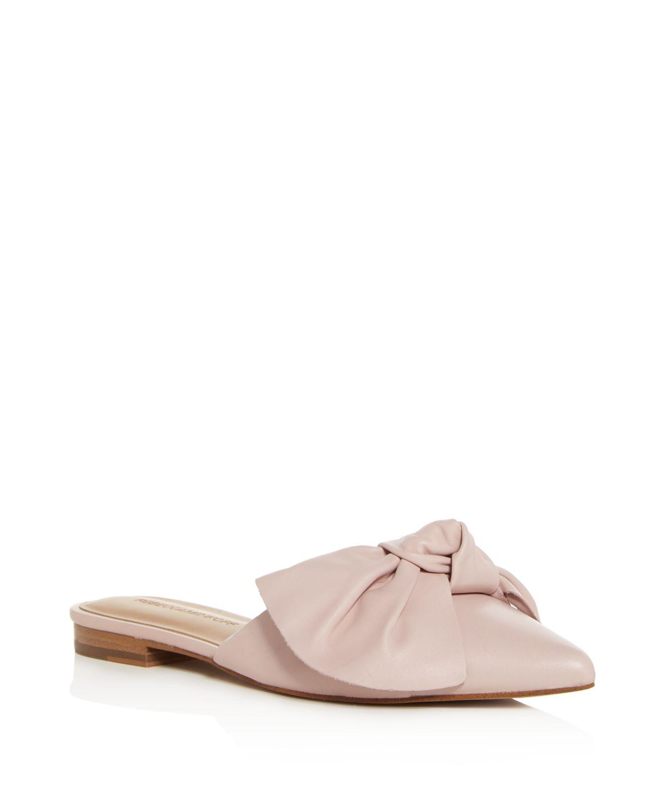 geniue stockist sale online discount extremely Rebecca Minkoff Pointed-Toe Bow Mules cheap supply the cheapest online explore oykIyWH