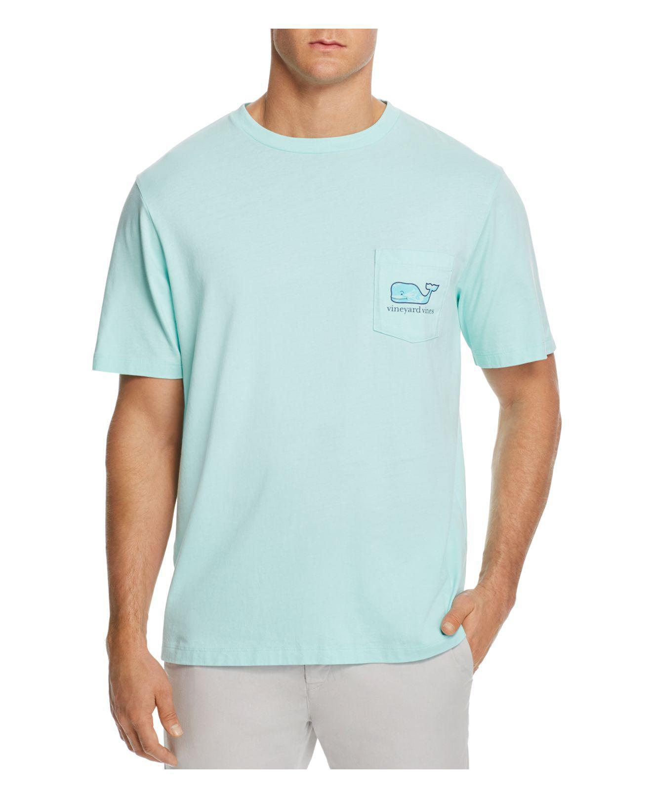 Lyst vineyard vines tri fish pocket tee in blue for men for Vineyard vines fishing shirt