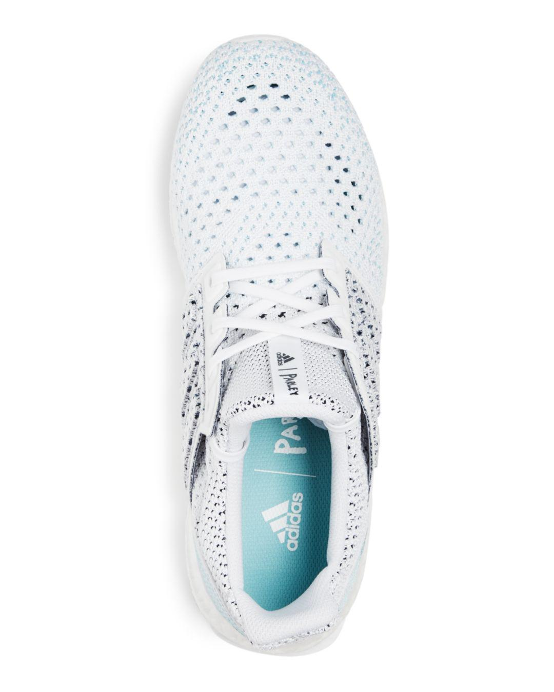 c5c47a452115f adidas Men s Ultraboost Parley Knit Lace Up Sneakers in White for Men -  Save 10% - Lyst