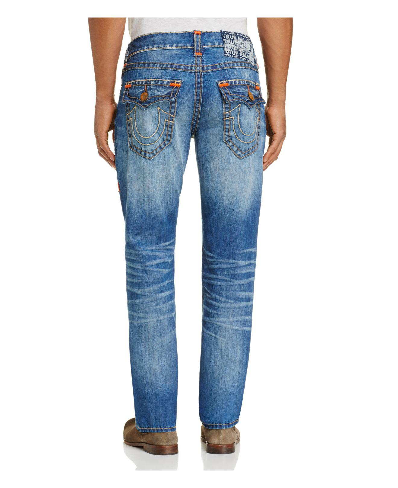 5a25eb6d382ea Lyst - True Religion Ricky Relaxed Fit Jeans In Cape Town in Blue ...