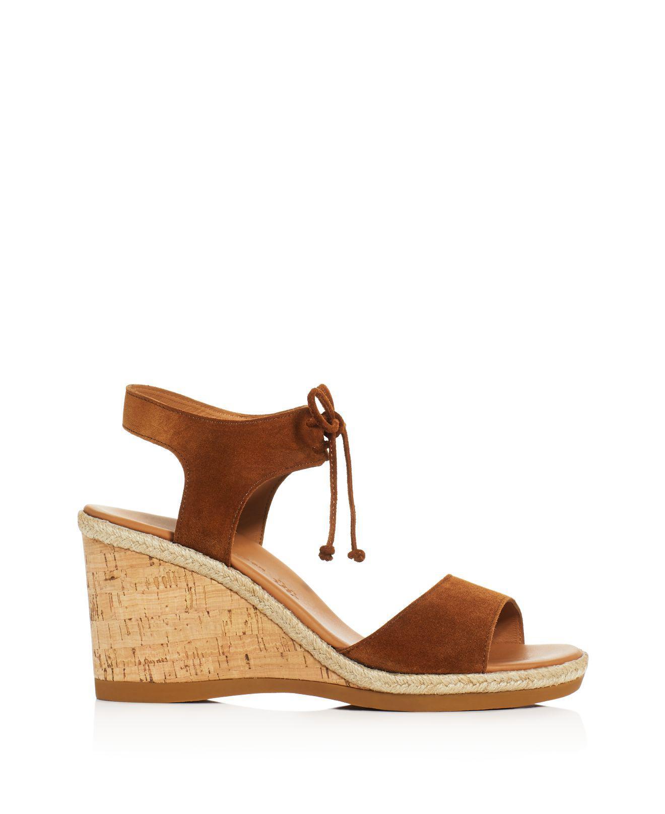 0de0acc6f4b Paul Green Melissa Wedge Sandals in Brown - Lyst