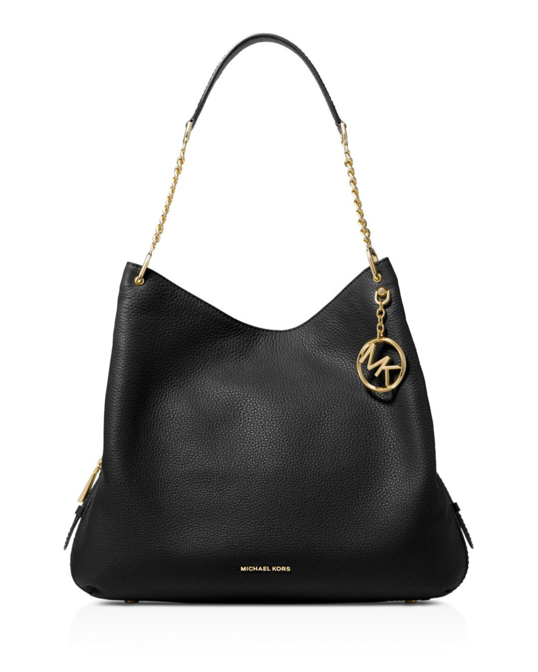 03fbf283a43e Lyst - MICHAEL Michael Kors Lillie Shoulder Tote Bag in Black - Save 51%