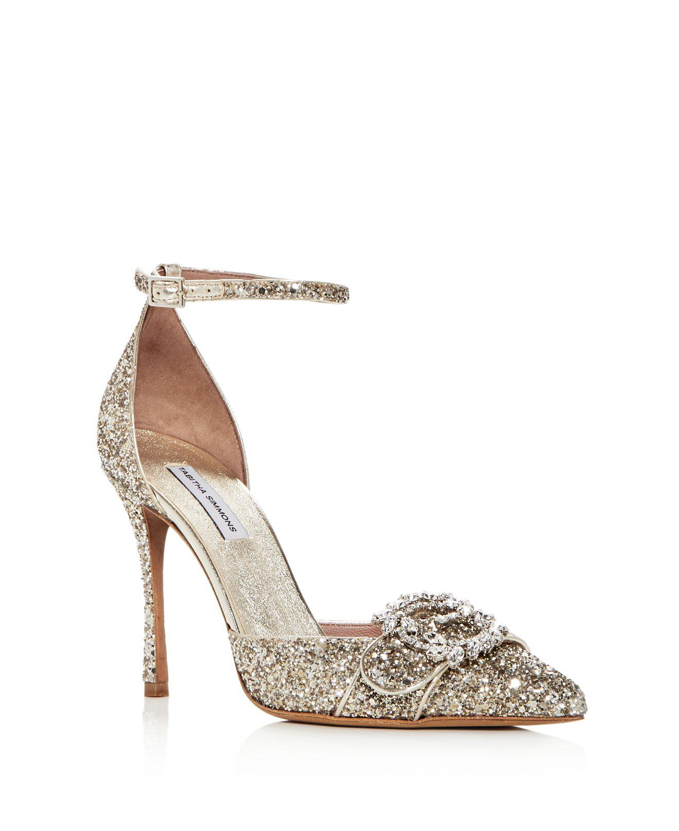 Tabitha Simmons Embellished Peep-Toe Pumps buy cheap excellent sneakernews ER97MpN5