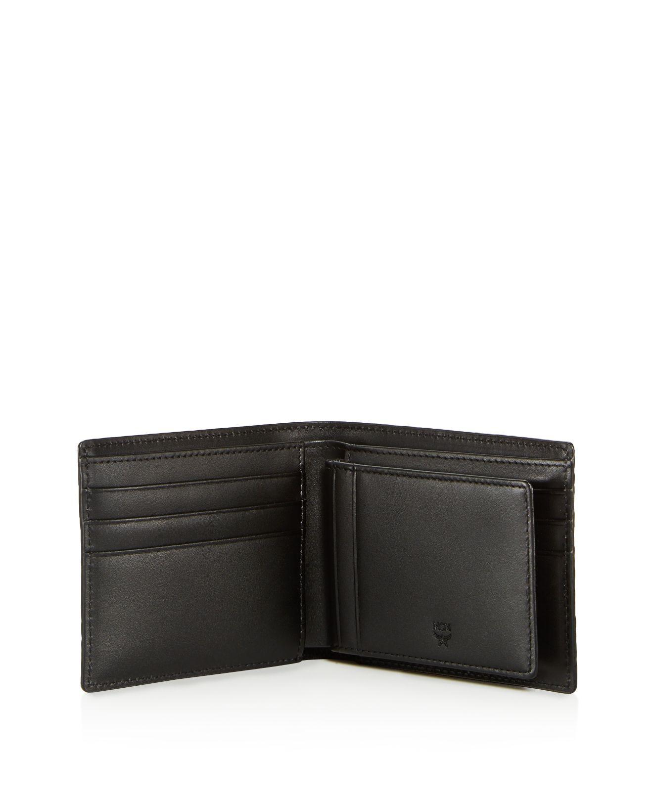 Lyst - MCM Claus Bifold Wallet With Removable Card Case in ...
