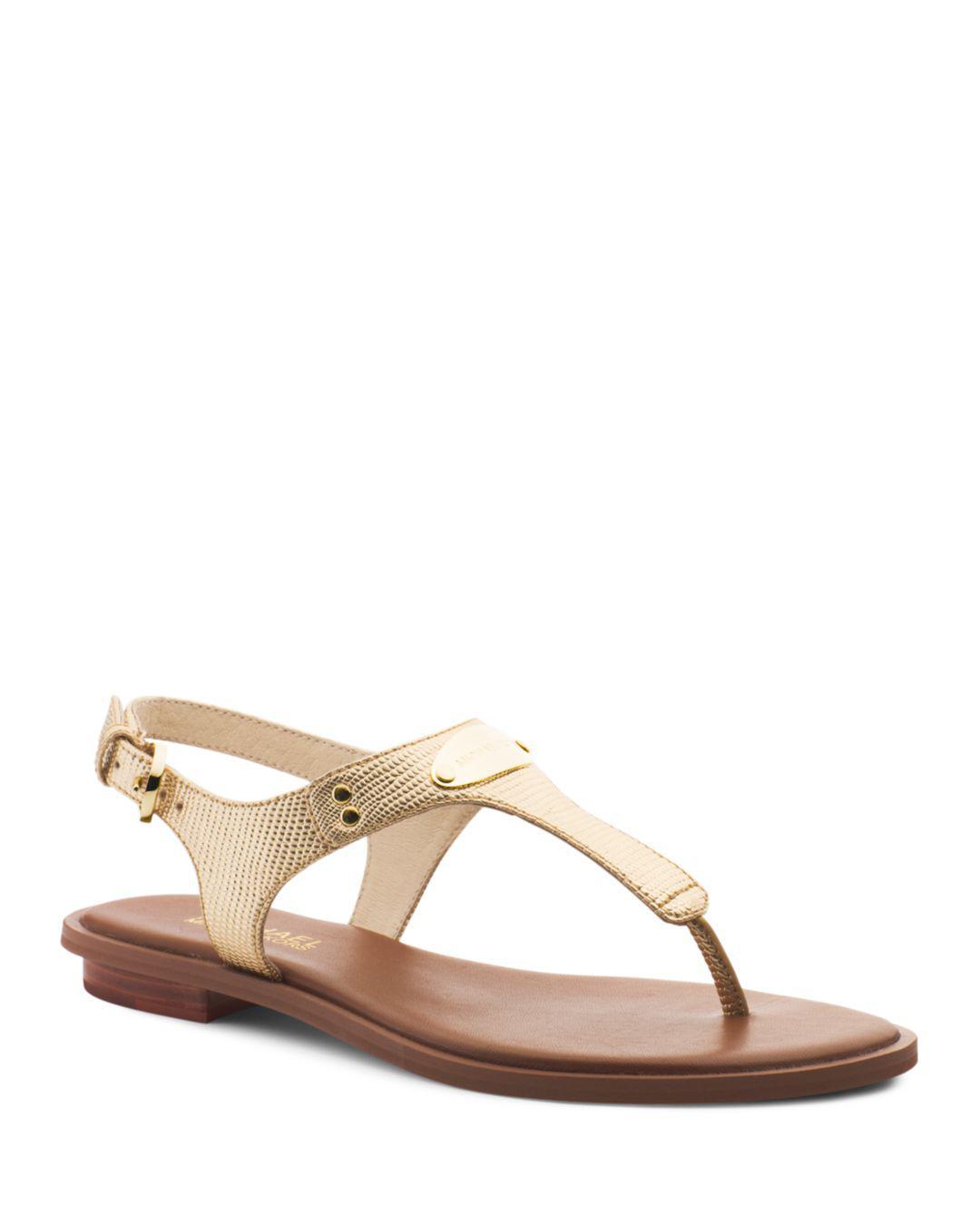 eeb4897aee3 MICHAEL Michael Kors. Women s Mk Plate Thong Sandals