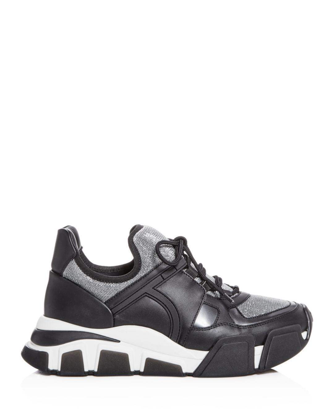 e2799deb86 Lyst - Ferragamo Sneaker Shoe in Black