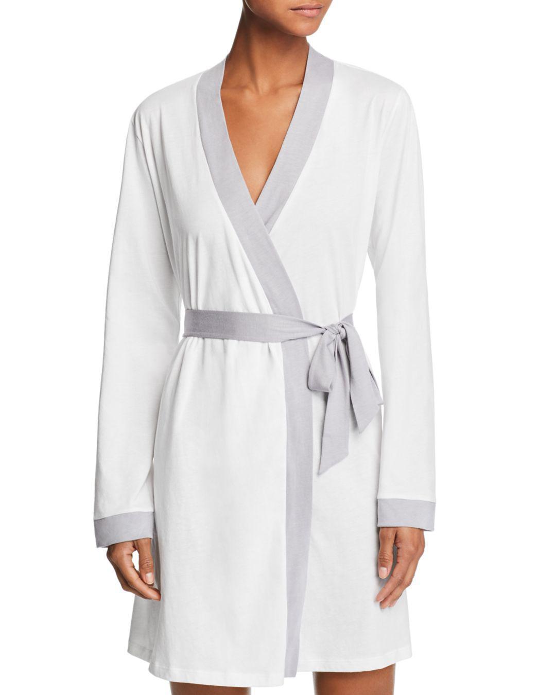 70b1cede46 Lyst - Cosabella Bella Robe in White