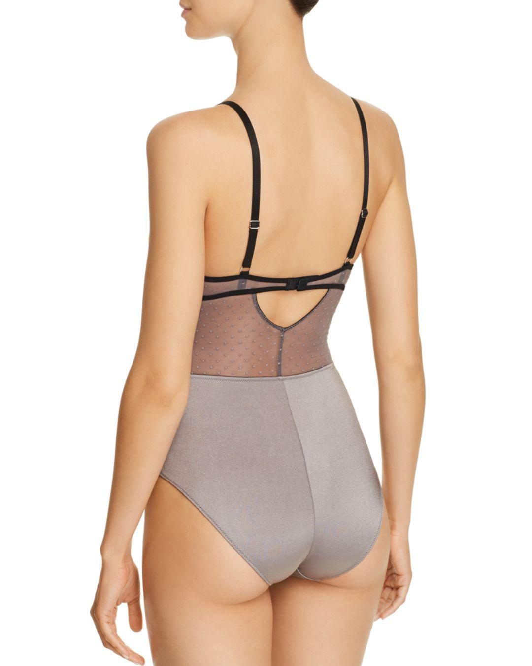 32bd2ed92346f Lyst - Thistle   Spire Constellation Wireless Soft Cup Bodysuit - Save 44%