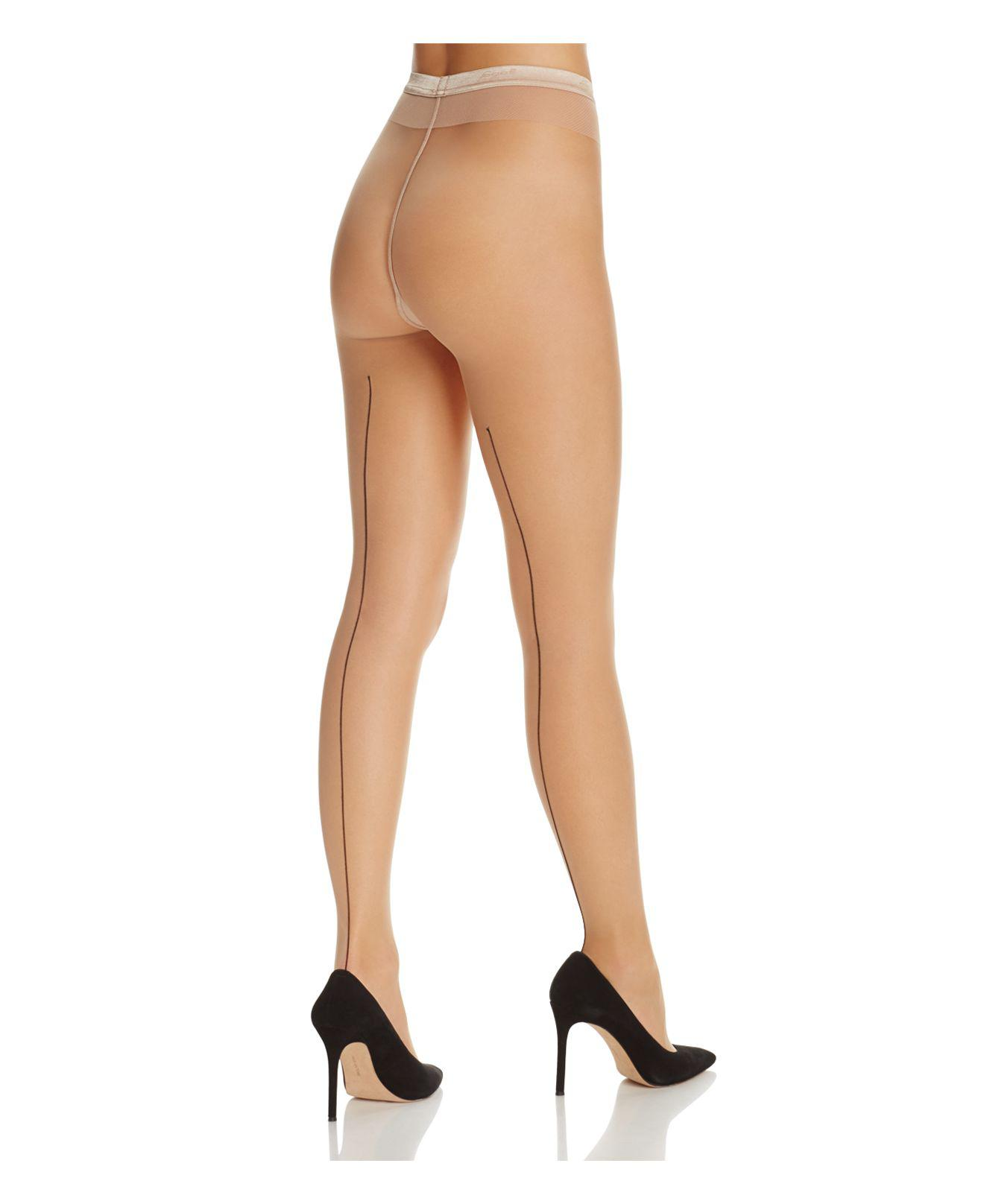 56b0842f5c81f Lyst - Fogal Catwalk Couture Tights in Natural