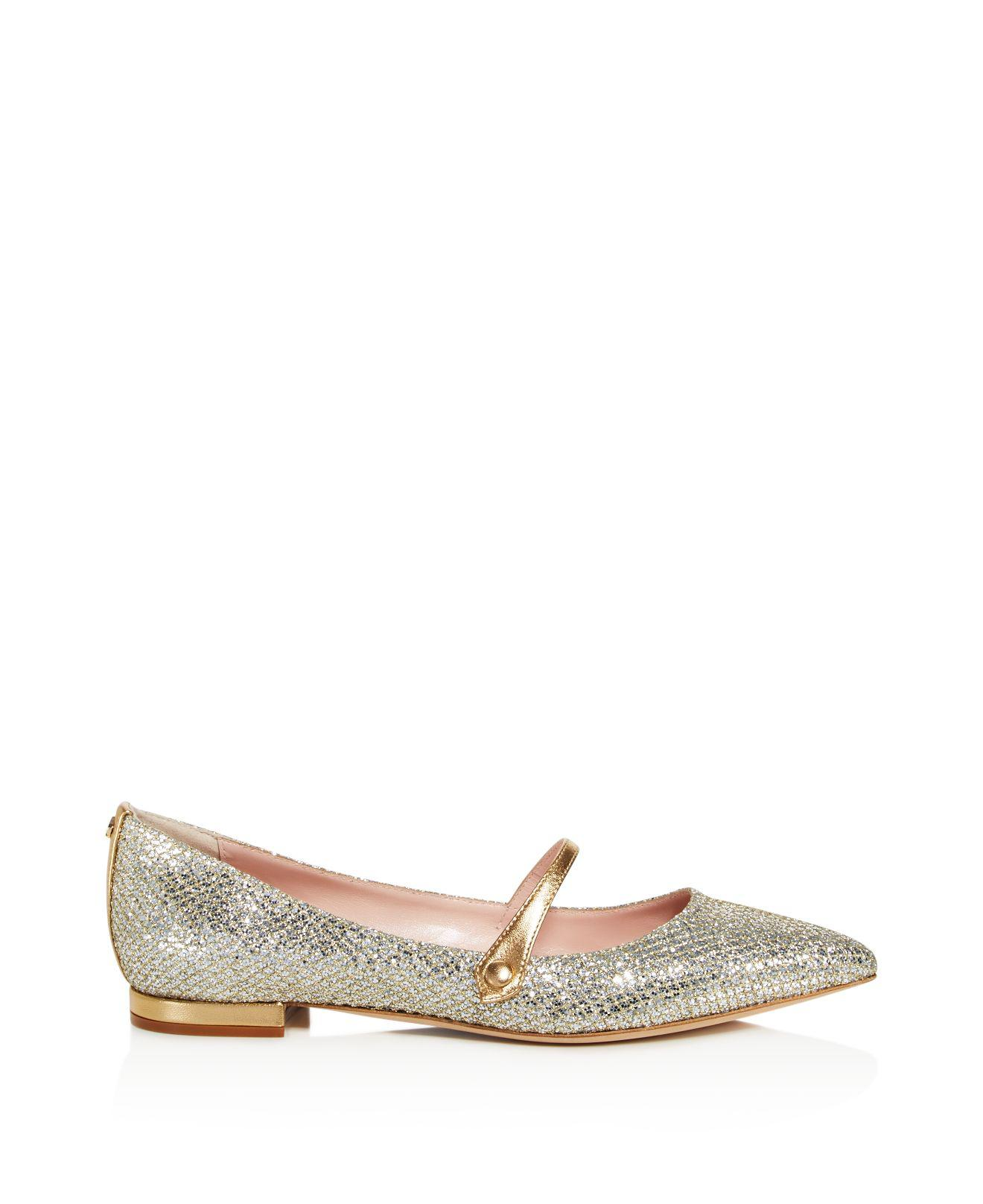 Lyst Kate Spade Bardot Pointed Toe Mary Jane Flats In