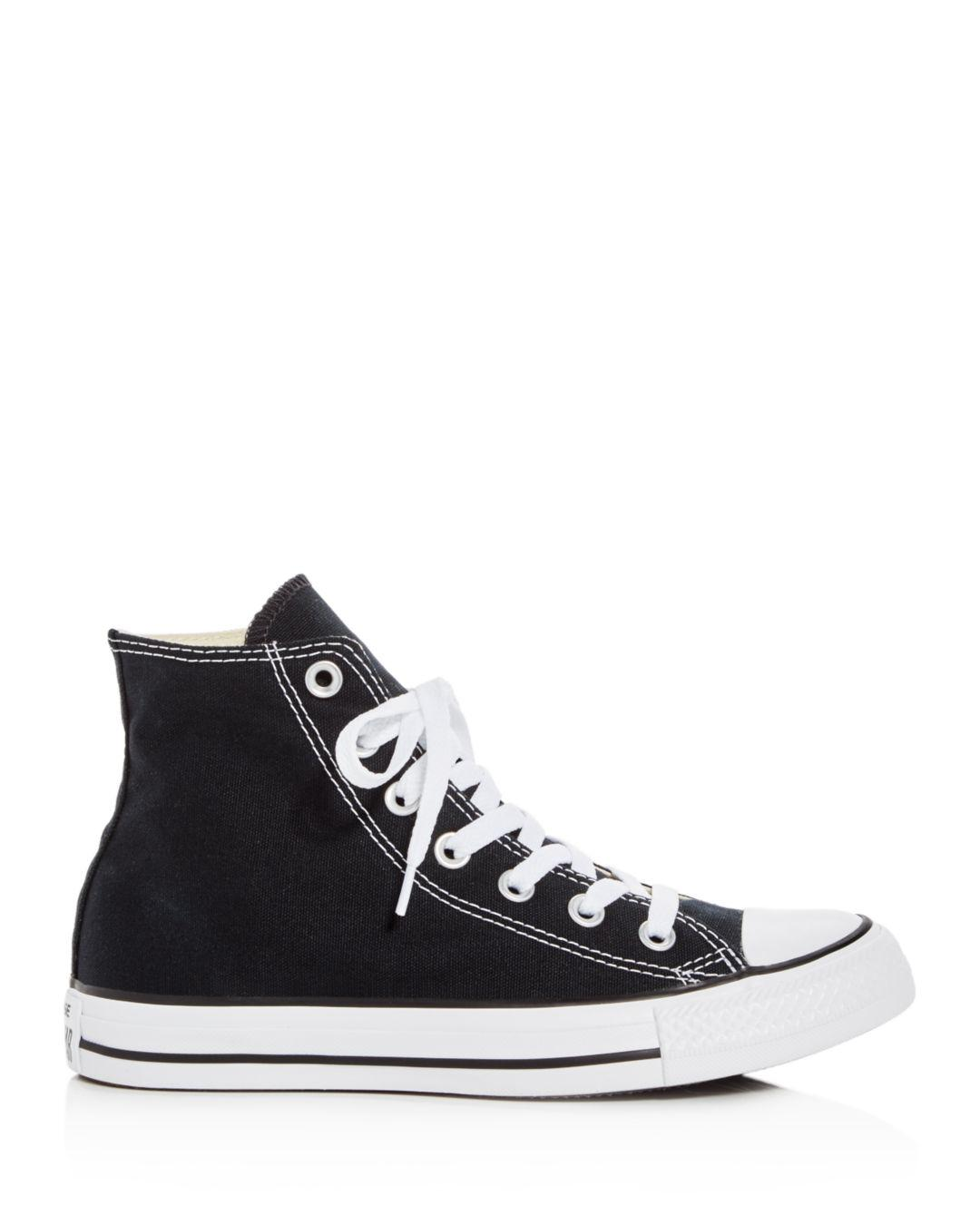 Lyst - Converse Women s Chuck Taylor All Star High Top Sneakers in Black 18001d6d5